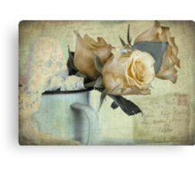 Past our sell by date Canvas Print
