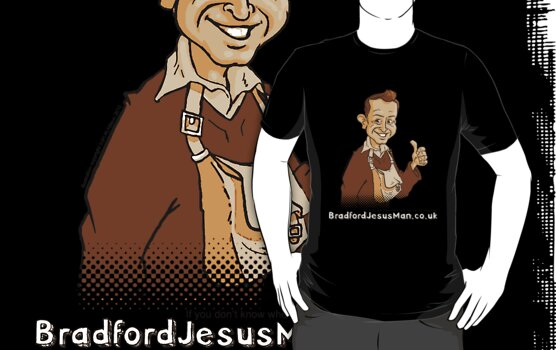 Bradford Jesus Man by Bleee