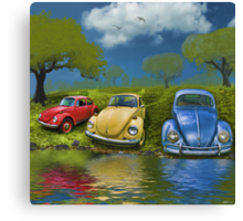 Bugs on  a Hill Canvas Print