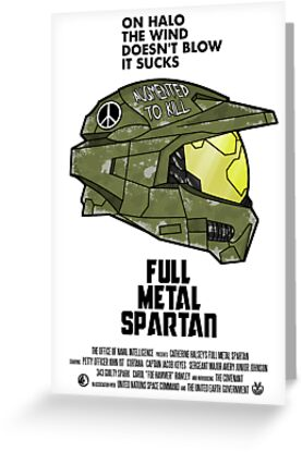 Full Metal Spartan by Adho1982