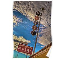 Premiere Motel on Route 66 Poster
