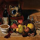 Still Life With Venetian Mask by KarenYeeFineArt