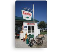 Route 66 - Sinclair Station Canvas Print
