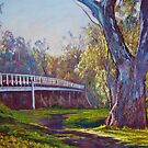 Goulburn Bridge 2011 by Lynda Robinson