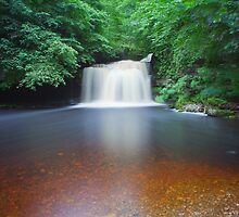 10 Minutes At West Burton Falls. by Nick Atkin