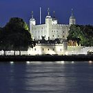 Tower of London at Night by Chris Monks