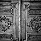 Wooden Door by Laurent Aphecetche