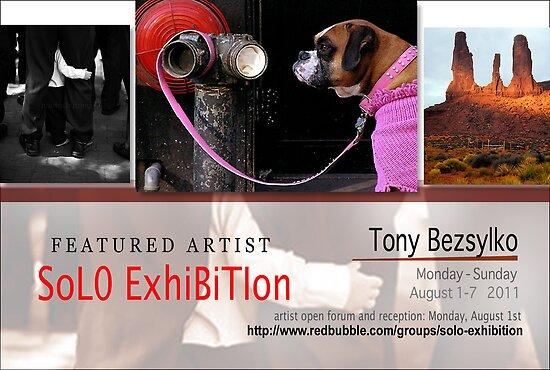 Tony Bezsylko by solo-exhibition