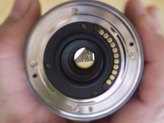 View through a lens by Emma Smith