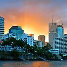 Dockside - Brisbane by Beth  Wode