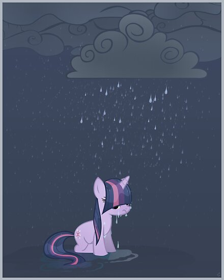 Rainy day poster by Stinkehund