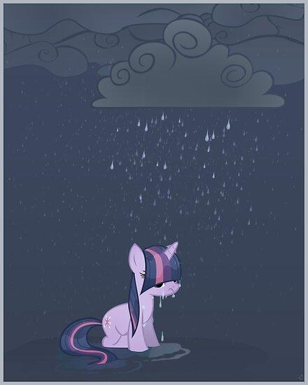 Rainy day poster by Stinkehund