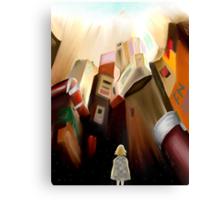 TIMA- Robotic Angel Canvas Print