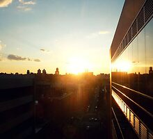 sunset on east harlem by ShellyKay