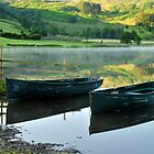 Watendlath Boats by Rachel Slater