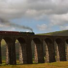 Steam train on Ribblehead by Rachel Slater