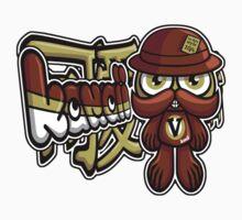 Victorian Mascot Tag Kids Clothes