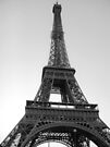 La dame de fer (The Iron Lady) - The Eiffel Tower, Paris [Black & White] by CalumCJL