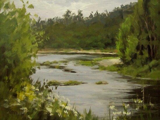 Winery River by Karen Ilari