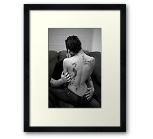 Tattoo Love Framed Print