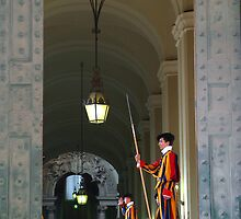 Vatican City Guards by Digimo