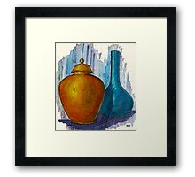 Still Life With Movement Framed Print