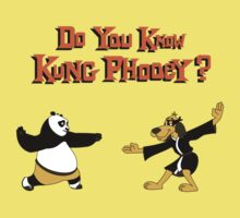 Do You Know Kung Phooey? Kids Clothes