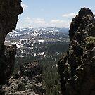 Castle Peak 2 by Patty (Boyte) Van Hoff
