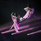 Synchronized Aerial Dancers by Sheri Bawtinheimer
