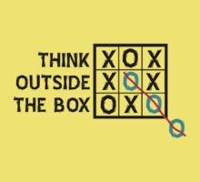 Think Outside the Box (Black) by Stephen Mitchell