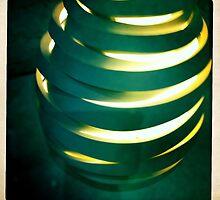 Hand Thrown Lamp Part 2 by Marita