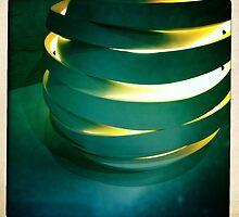 Hand Thrown Lamp Part 3 by Marita