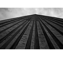 Looking Up The Wall Of City Hall Photographic Print