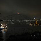 Sydney Misty Evening by Anthony Ogle