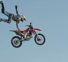 Stunt Rider #3 by cameraimagery