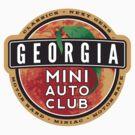 Georgia Mini Auto Club Sticker by JohnGo