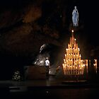 The Unknown Soldier Prays in the Grotto of Lourdes by marymdmed