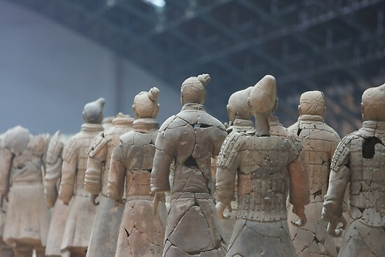 Terracota Warriors by Ian Johnston