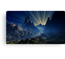 Lost River Sunset - Earthsea Canvas Print