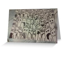 Canvas Tile Greeting Card