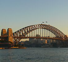 Early Morning at Sydney Harbour Bridge by PollyBrown