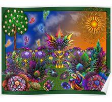 Apo Rainbow Garden Poster