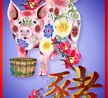 Year Of The Pig  by Lotacats