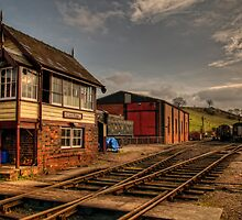 Sunny Cheddleton by David J Knight