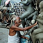 A potter at Kumartuli by JYOTIRMOY Portfolio Photographer