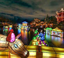 Chinese Lanterns by Sylvain Dumas