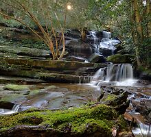Somersby Second Falls 02 by Barry Culling