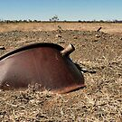Glenroy Meatworks remains. King Leopold Ranges Western Australia.  by Lynne Haselden