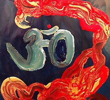 Indian Om by Angela Pari Dominic Chumroo