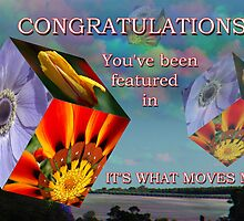 It's What Moves Me Banner  by Eve Parry
